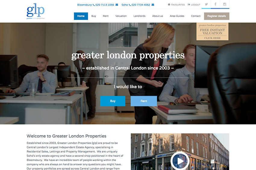 Glp Screen 1, Greater London Properties