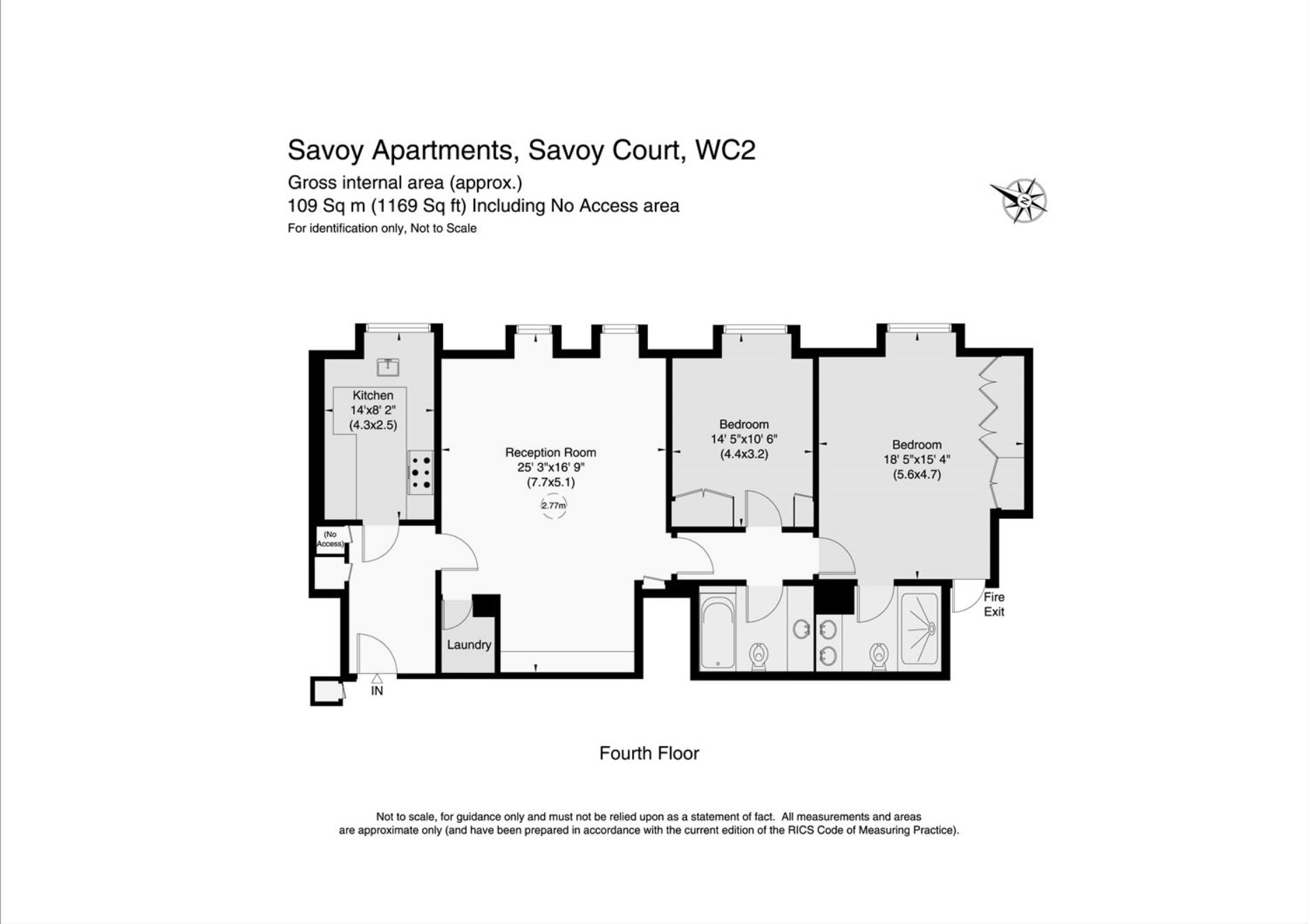 2 Bedroom Flat, Savoy Court, London, WC2R · Greater London Properties
