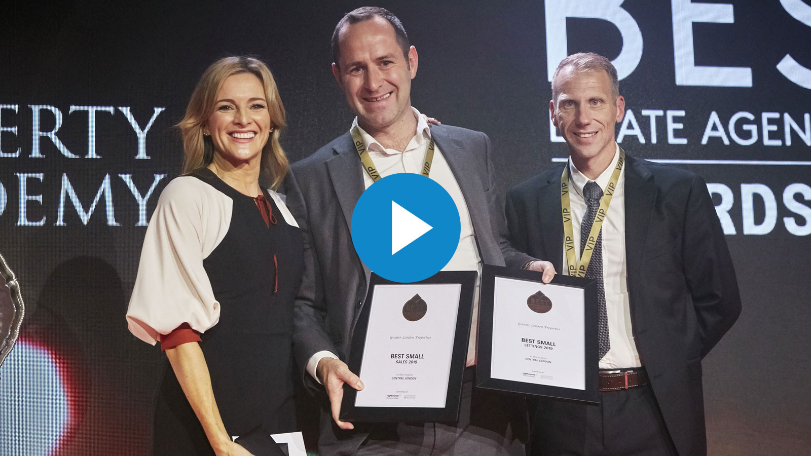 Best estate agent london 2019 award video cover