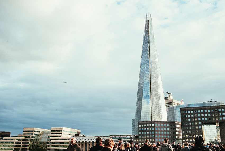 Photo of the shard - displaying the best Architecture in London
