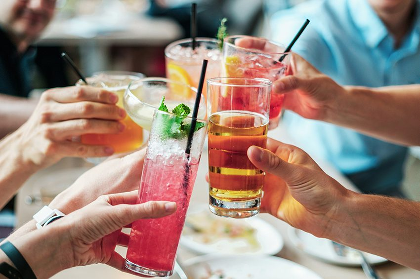 drinks cheers in best student bars London