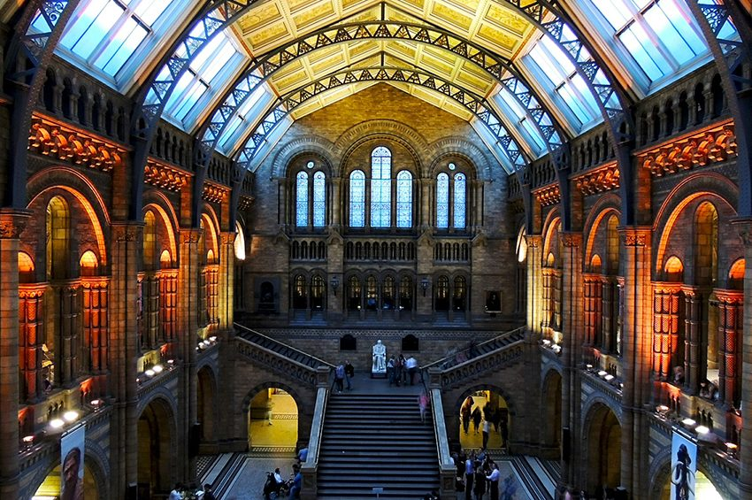 Natural History Museum - free things to do in London