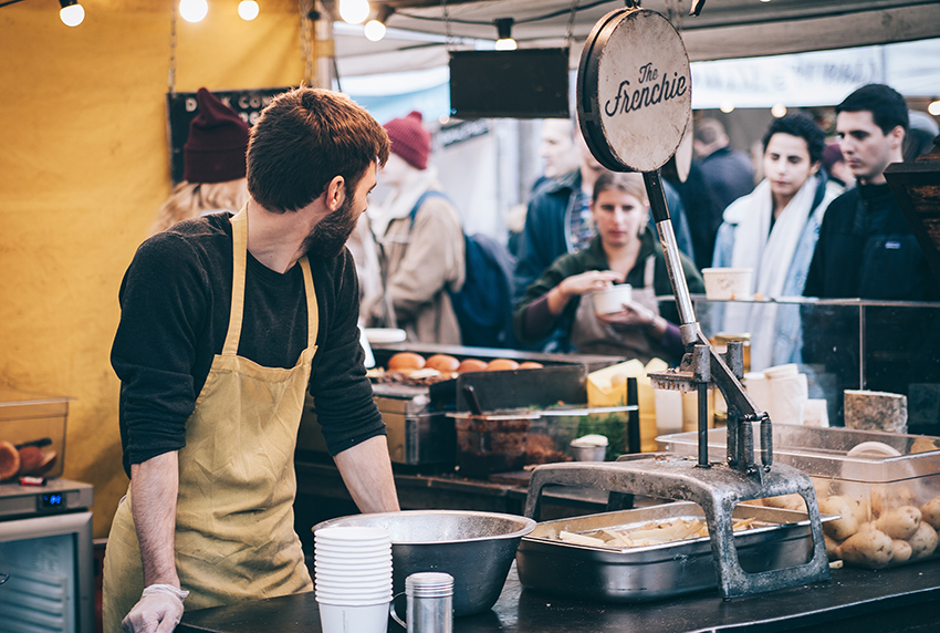 Food Stall at Food Festivals In London 2019