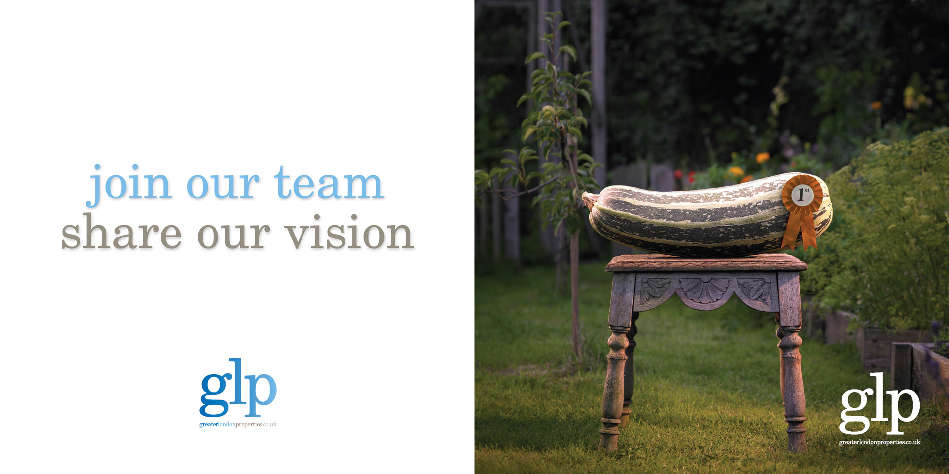 Join Our Team, Share Our Vision