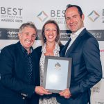 Award Winning London Estate Agents collecting award