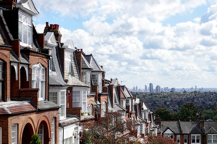 Moving To London With A Family terraced houses