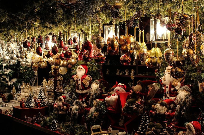 stall at Best Christmas Markets in London