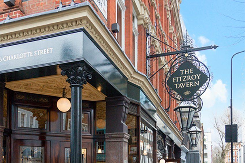 What To Do In Fitzrovia - The Fitzrovia Tavern Pub