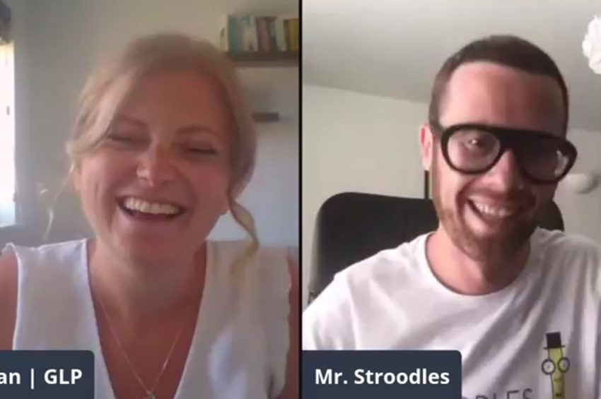 Business as UNusual Live - Interview with Stroodles - Pasta Straws